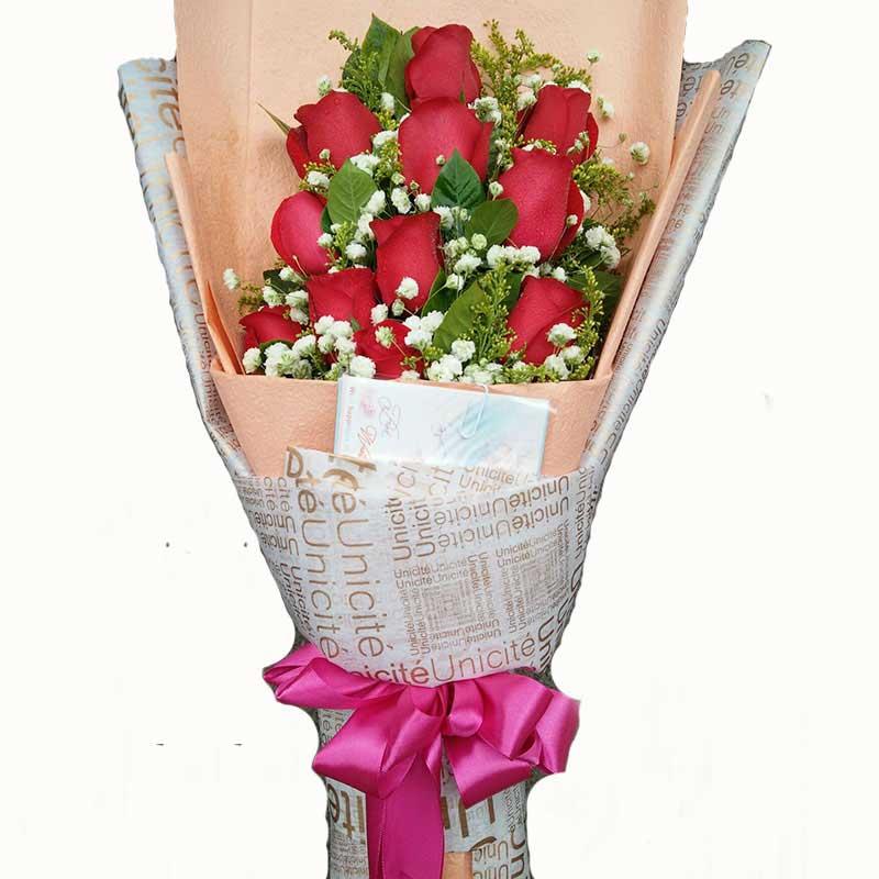 11枝红玫瑰/美丽心情