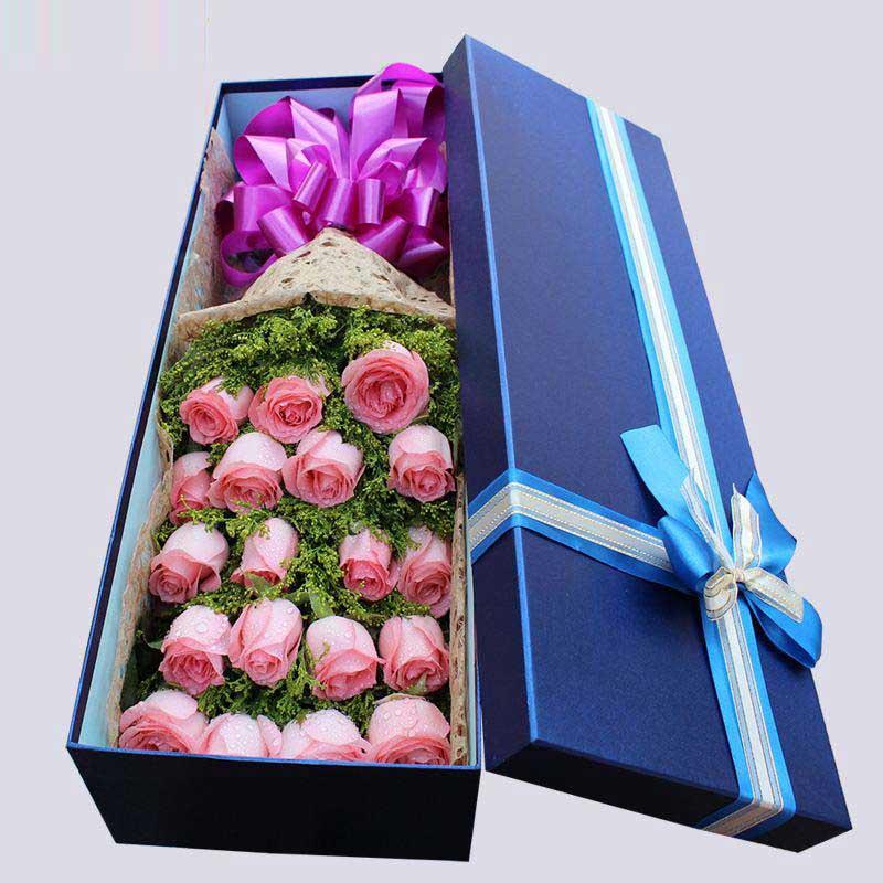 爱慕你的心/19枝玫瑰礼盒