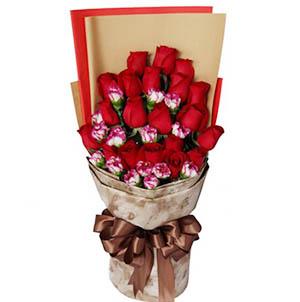 开心的祝愿/5枝向日葵:遥远的祝福/玫瑰康乃馨