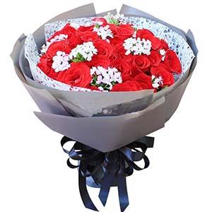 亲爱的,情人节快乐/33枝红玫瑰