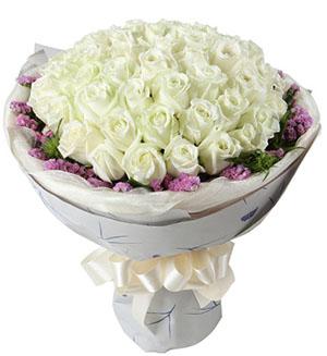 33枝白玫瑰/幸福爱人