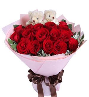 黛安娜玫瑰9枝/你是我的唯一:守护爱情/19枝红玫瑰