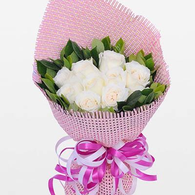 一生平安健康/28枝玫瑰:9枝玫瑰/心意