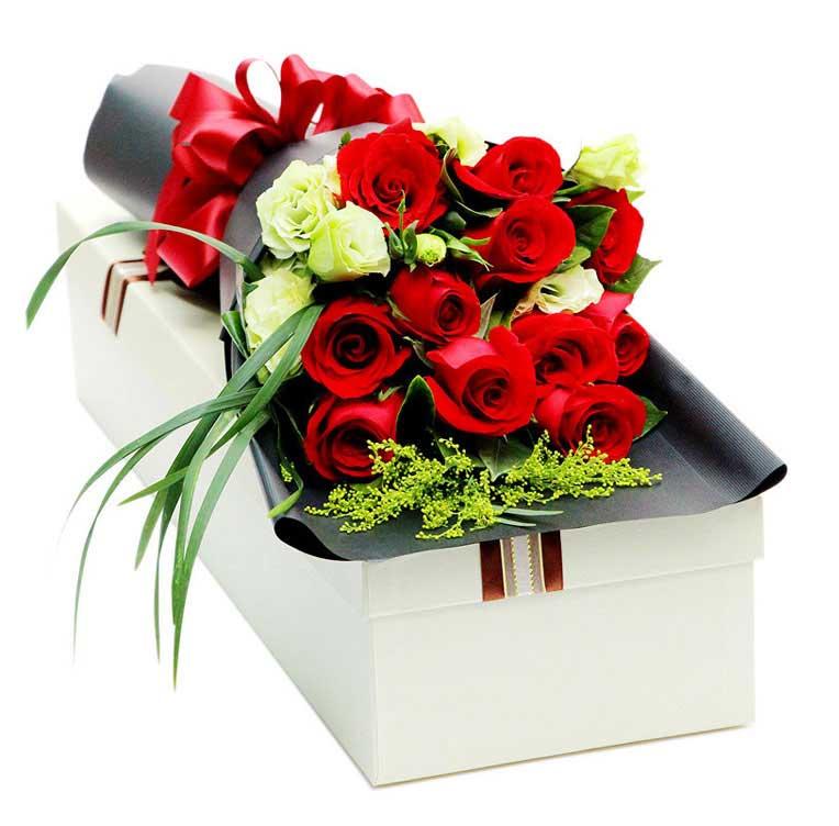 给你的惊喜/11枝玫瑰礼盒