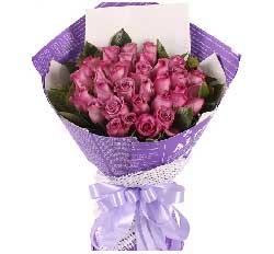 33枝紫玫瑰/想想我,我会让你快乐
