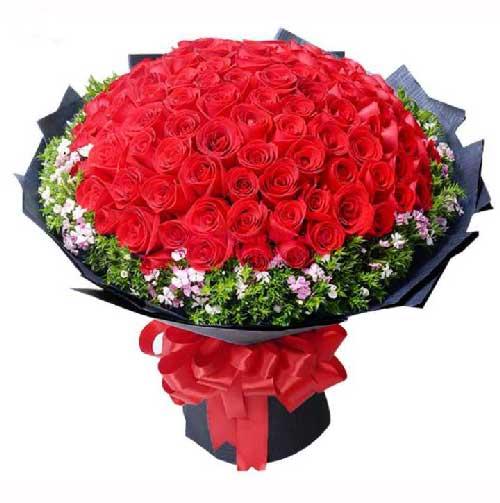 99枝红玫瑰/爱情红红火火