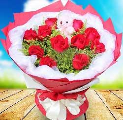在想我吗/11枝红色玫瑰