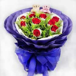 27枝玫瑰/永恒的纪念:呼唤着你/11枝红玫瑰