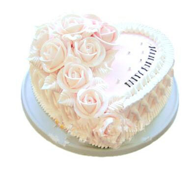 心形鲜奶蛋糕/心的温暖
