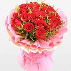 致美丽的你/21枝红玫瑰