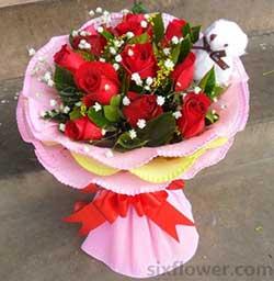 唯一爱/11枝红玫瑰