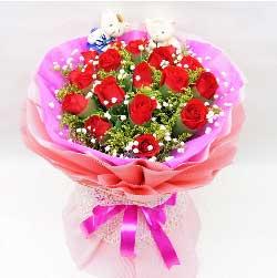 温婉如诗/16枝玫瑰:19枝红玫瑰/我用行动告诉你