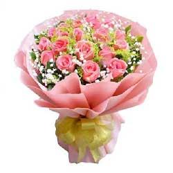 爱的温暖/19枝香槟玫瑰礼盒:21枝玫瑰/思念佳人