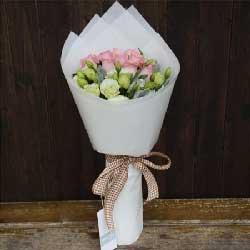 完美爱情/33枝玫瑰花:11枝粉佳人玫瑰/祝福你在每一天里永远多采多姿