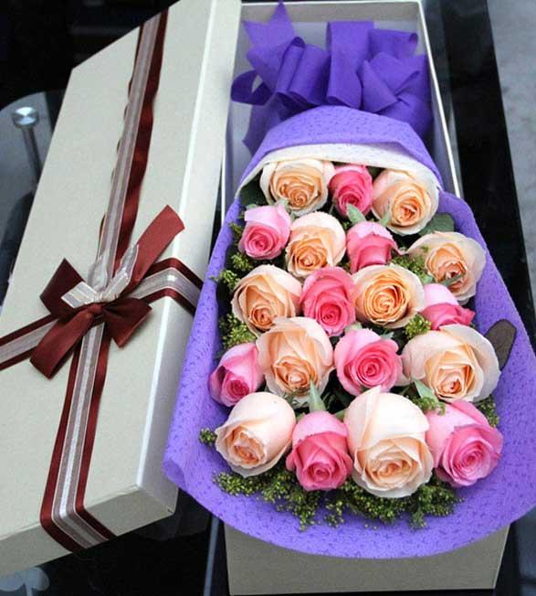 19枝玫瑰/爱你天长地久