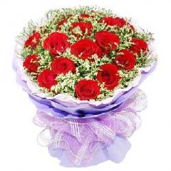 19枝玫瑰/喜爱的人