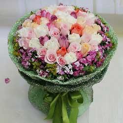 48枝玫瑰/爱你是甜蜜的