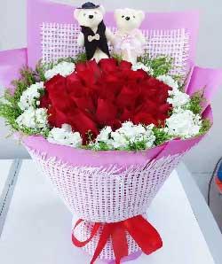 22枝红色玫瑰/焕发生活的热情