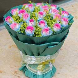 19枝玫瑰/我想你,愿你更加美丽