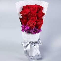9枝红玫瑰/让每一天都过得快乐坚强
