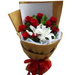 9枝红玫瑰/柔情似水
