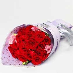 19枝红玫瑰/狂热的爱