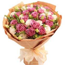 19枝紫玫瑰/我心里在想你