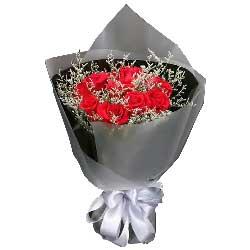 999枝玫瑰/心在一起:喜欢你的一切/19枝红色玫瑰
