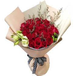 感谢你的出现/29枝粉玫瑰:我爱你无尽头/29枝红色玫瑰