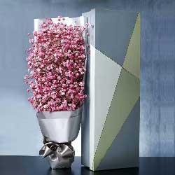 爱你爱到歇斯底里/粉色满天星礼盒