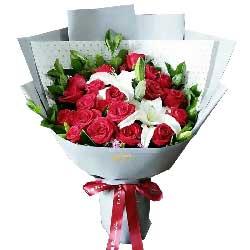 与你一起看尽人间山水/22枝红色玫瑰