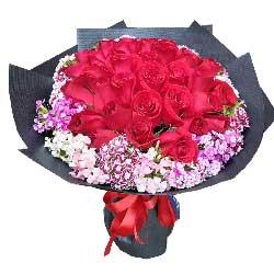 爱情的港湾/19枝红色玫瑰礼盒:30枝红玫瑰/一见钟情