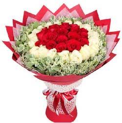 爱是一辈子的承诺/9枝香槟玫瑰:想到你我就感觉幸福甜蜜/36枝玫瑰