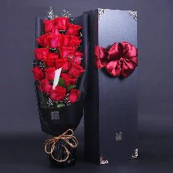 不变的爱恋/19枝玫瑰礼盒