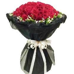 你是我的想念/99枝玫瑰礼盒:永远不变的牵挂/51枝红色玫瑰