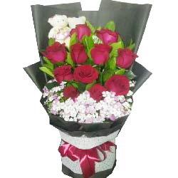 最真切的爱/11枝红色玫瑰