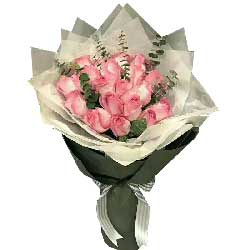 亲爱的祝你一生如意/18枝苏醒玫瑰