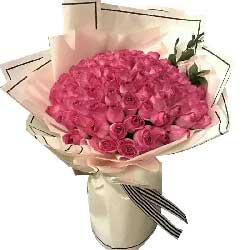永远呵护你/17枝粉玫瑰巧克力:地老天荒心不移/99枝粉色玫瑰