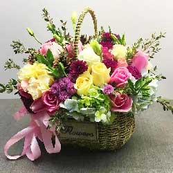 特别的问候/38枝玫瑰:你是一只幸福鸟/玫瑰花篮