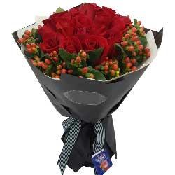 你是我的想念/99枝玫瑰礼盒:难舍难分的爱/19枝红色玫瑰