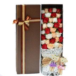 爱情的港湾/19枝红色玫瑰礼盒:世无双的爱情/33枝玫瑰礼盒