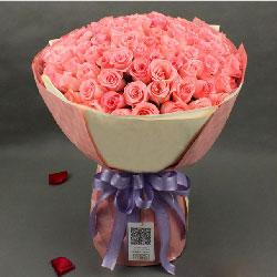 你我今生最大的幸福/99枝戴安娜玫瑰