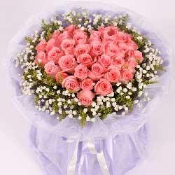 无时无刻的爱/33枝戴安娜玫瑰