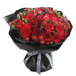99枝玫瑰/真爱永恒:爱边如影相随行/红玫瑰33枝