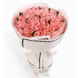 特别的爱永远属于你/戴安娜粉玫瑰99枝