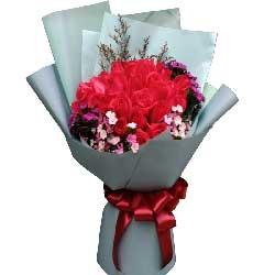 默默为你做一切/21枝红色玫瑰