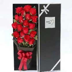 给你一个幸福的人生/20枝红色玫瑰礼盒