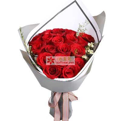 爱你就像爱生命/19枝红玫瑰