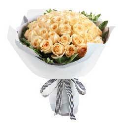 甜蜜的思念/50枝香槟玫瑰