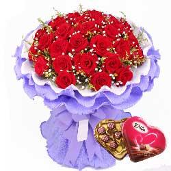 生生不息的爱/33枝红玫瑰巧克力